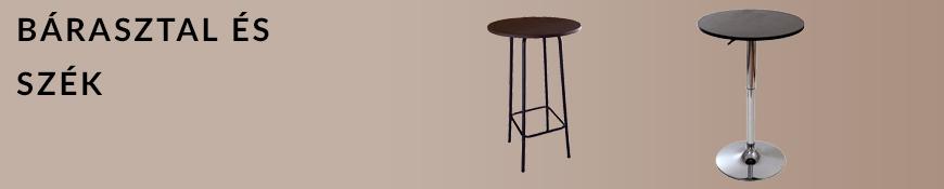 Bár asztal és szék