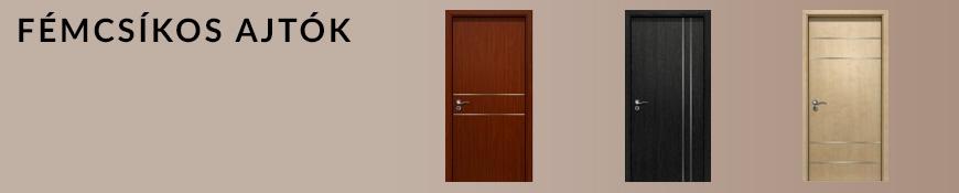 Fémcsíkos ajtók