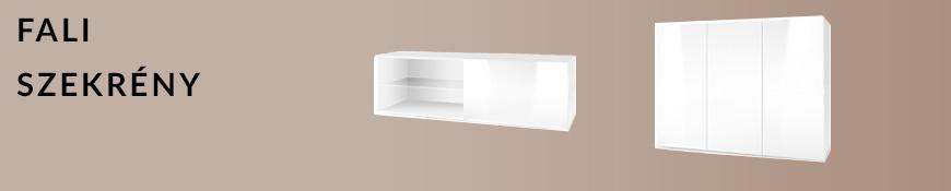 Fali szekrény
