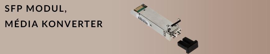 SFP modul, média konverter