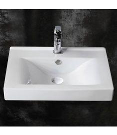 GH Design 60 cm-es mosdó, szögletes, 60x47x17.5 cm