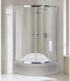Niagara Wellness ALOR íves zuhanykabin, DIPER I. zuhanytálcával, 90x90x188.5 cm 399-297