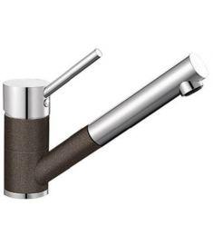 Blanco ANTAS-S mosogató csaptelep, kihúzható zuhanyfejes, kávé/króm HD, 515357
