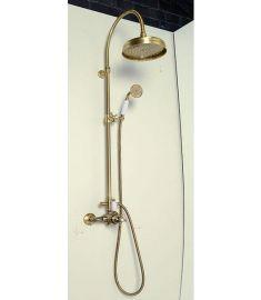 Reitano ANTEA zuhanyoszlop termosztátos csapteleppel, bronz SET046