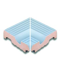 AQUA AZUL /AS 088 11.9x11.9 medence belső sarokelem csúszásmentes Rosagres