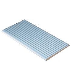 AQUA AZUL /AS 003 11.9x24.4 bordázott felületű. hosszú oldalán kerekített lap csúszásmentes Rosagres