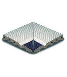 AQUA BLANCO /AS 044 26.2x26.2 medence belső sarokelem csúszásmentes Rosagres