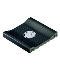 AQUA PLOMO /AS 205 24.4x24.4x2.4 kismélységű vízelvezető elem lefolyóval csúszásmentes Rosagres