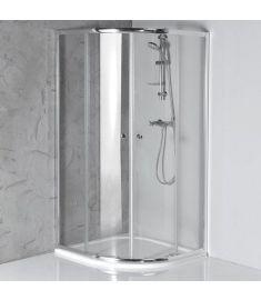 AQUALINE ARLETA íves zuhanykabin 80x80x185 cm, HLS800