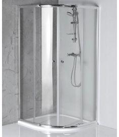 AQUALINE ARLETA íves zuhanykabin 90x90x185 cm, HLS900