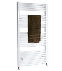 AQUALINE fürdőszoba radiátor 50x65 cm, 308W, fehér ILO65
