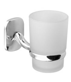 AQUALINE RUMBA pohártartó, tejüveg, RB104