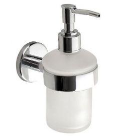 AQUALINE SAMBA szappanadagoló, tejüveg, 150 ml, SB119