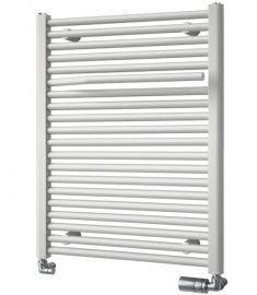 Aqualine SIBU fürdőszoba radiátor, törölközőtartóval, egyenes, 409W, 50x77.5 cm, fehér, IL507