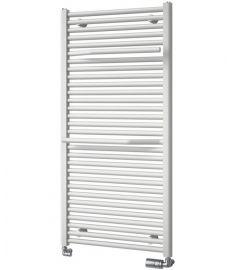 Aqualine SIBU fürdőszoba radiátor, törölközőtartóval, egyenes, 645W, 50x121.5 cm, fehér, IL512