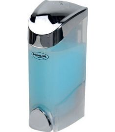 AQUALINE szappanadagoló 200 ml, 6,5x16x8,2 cm, króm 1319-71