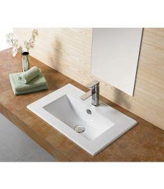 AREZZO Design MEDFORD beépíthető mosdó, 60x39 cm AR-3060