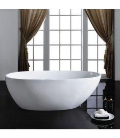 Arezzo Design SILK szabadon álló kád, matt fehér, 170x85x57 cm, AR-SILK170