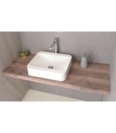 Sapho AVICE mosdópult 110x50 cm, rusztikus dió AV113