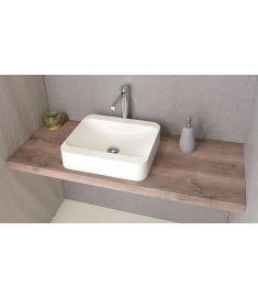 Sapho AVICE mosdópult 120x50 cm, rusztikus dió AV123