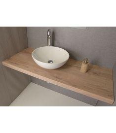 Sapho AVICE mosdópult 120x50 cm, tölgy antik fehér AV125