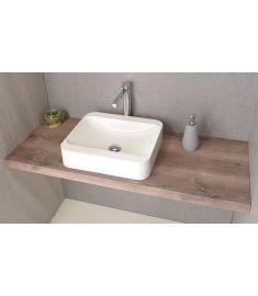 Sapho AVICE mosdópult 130x50 cm, rusztikus dió AV133