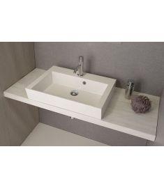 Sapho AVICE mosdópult 140x50 cm, tölgy antik fehér AV145