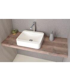Sapho AVICE mosdópult 150x50 cm, rusztikus dió AV153