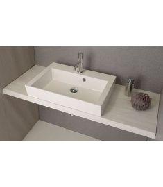 Sapho AVICE mosdópult 150x50 cm, tölgy antik fehér AV155