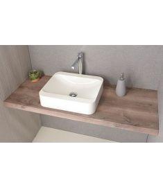 Sapho AVICE mosdópult 160x50 cm, rusztikus dió AV163