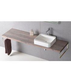 Sapho AVICE mosdópult 170x50 cm, rusztikus dió AV173