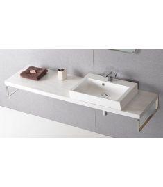 Sapho AVICE mosdópult 170x50 cm, tölgy antik fehér AV175