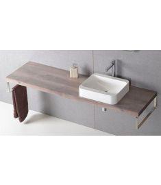 Sapho AVICE mosdópult 190x50 cm, rusztikus dió AV193