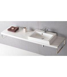 Sapho AVICE mosdópult 230x50 cm, tölgy antik fehér AV235