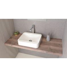 Sapho AVICE mosdópult 70x50 cm, rusztikus dió AV073