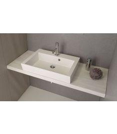 Sapho AVICE mosdópult 70x50 cm, tölgy antik fehér AV075