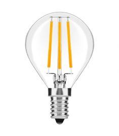 Avide FILAMENT MINI GLOBE retro LED izzó, E14, 4W, meleg fehér fényű ABLFMG14WW-4W