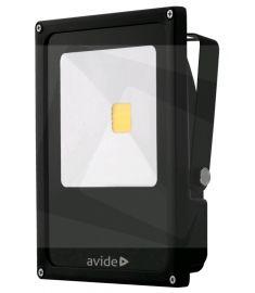 Avide SLIM FLOOD LIGHT LED reflektor, 30W, természetes fehér fényű ABSFLNW-30W
