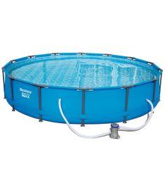 Bestway COPACABANA SUPERIOR fémvázas medence, 427x84 cm, vízforgatóval FFA 199