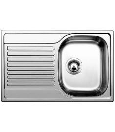Blanco TIPO 45S Compact rozsdamentes mosogatótálca, 78x50x17 cm, natúr, 513441