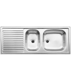 Blanco TOP EZS 11x4 rozsdamentes mosogatótálca, 110x43.5x15 cm, natúr, forgatható 500847
