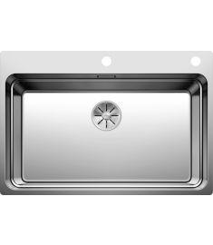 Blanco ETAGON 700-IF/A rozsdamentes mosogató, dugókiemelővel, 74x50x19 cm, selyemf 524274