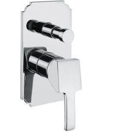 Bugnatese VINTAGE falba építhető váltós zuhany csaptelep króm 9872CR