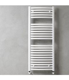 Caleido MARABU törölközőszárító radiátor, íves, 123.3x60 cm, fehér 123600