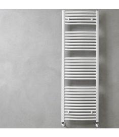 Caleido RONDINE törölközőszárító radiátor, íves, 118.6x60 cm, fehér 251260