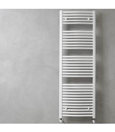 Caleido RONDINE törölközőszárító radiátor, íves, 150.5x60 cm, fehér 251560