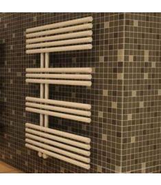 Caleido PAVONE törölközőszárító radiátor, egyenes, 85.6x61 cm, fehér 615008