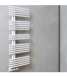 Caleido PAVONE törölközőszárító radiátor, egyenes, 140.2x61 cm, fehér 615014