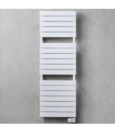 Caleido GUFO törölközőszárító radiátor, egyenes, 150.1x61 cm, fehér 701561
