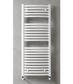 Caleido MARABÚ törülközőszárító radiátor, egyenes, 123.3x45 cm, fehér 123450